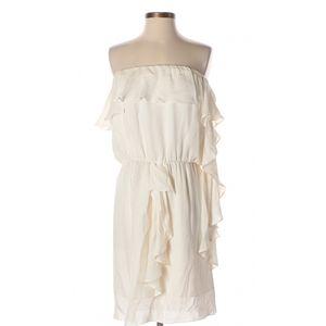 Haute Hippie Ivory Silk Dress